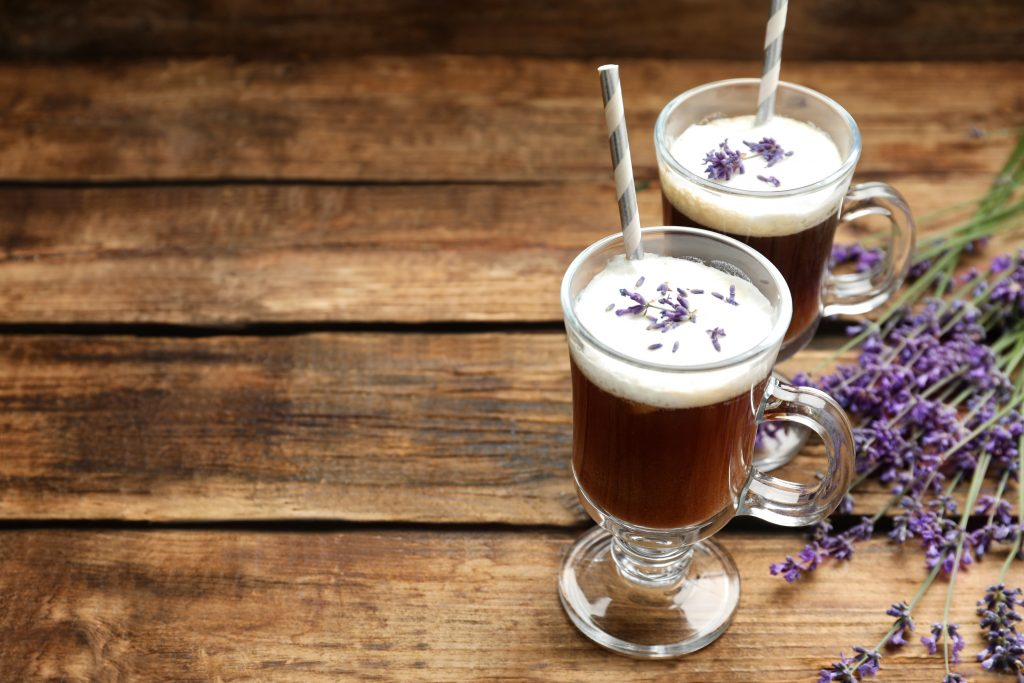 lavender syrup for coffee