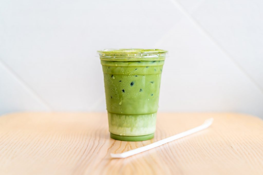 Blueberry Iced Matcha Latte Review