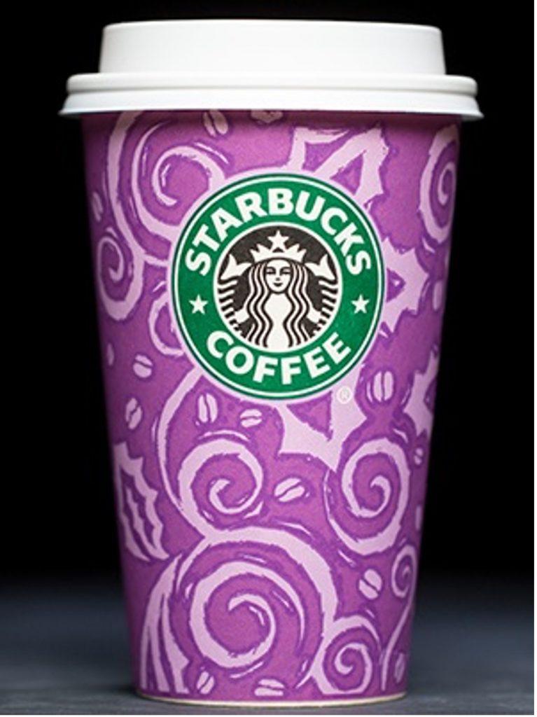 Starbucks 1997 Holiday Cup Design