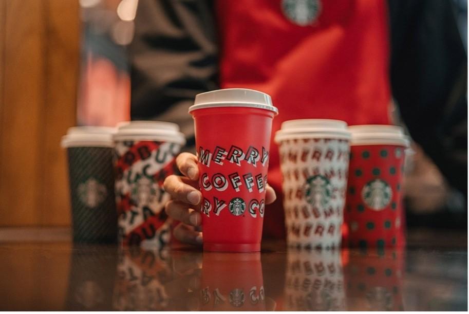 2019 Starbucks Reusable Holiday Cups