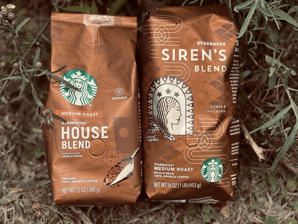Starbucks House Blend Vs. Starbucks Siren Blend
