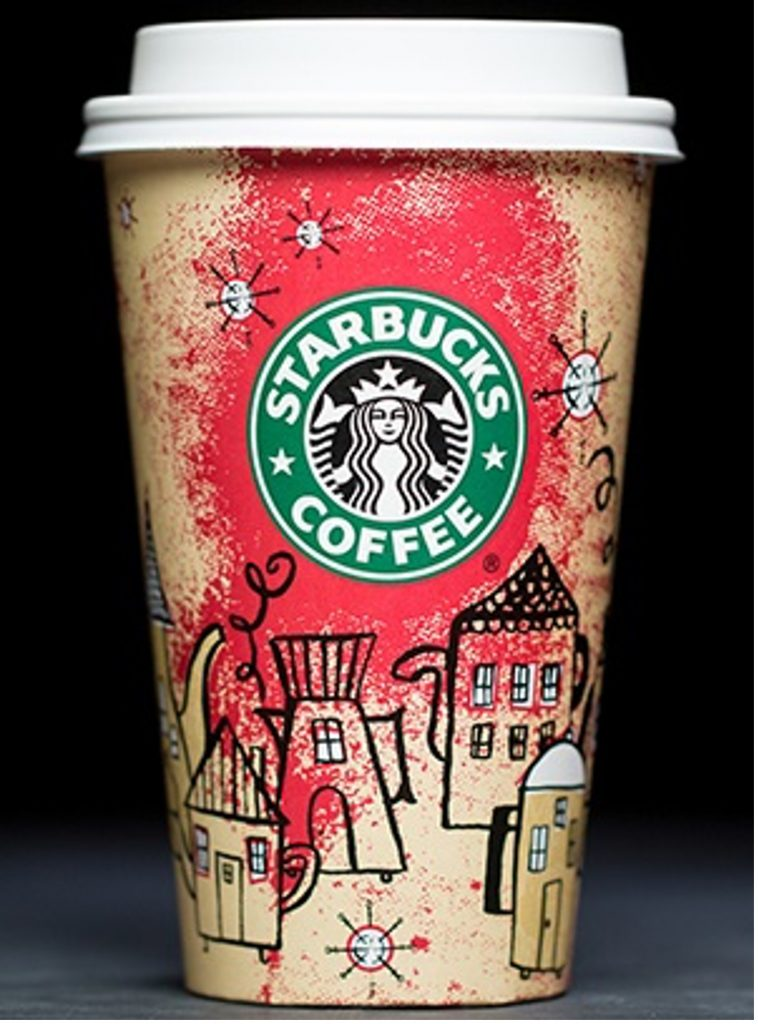 Starbucks Coffeetown Cups 2000
