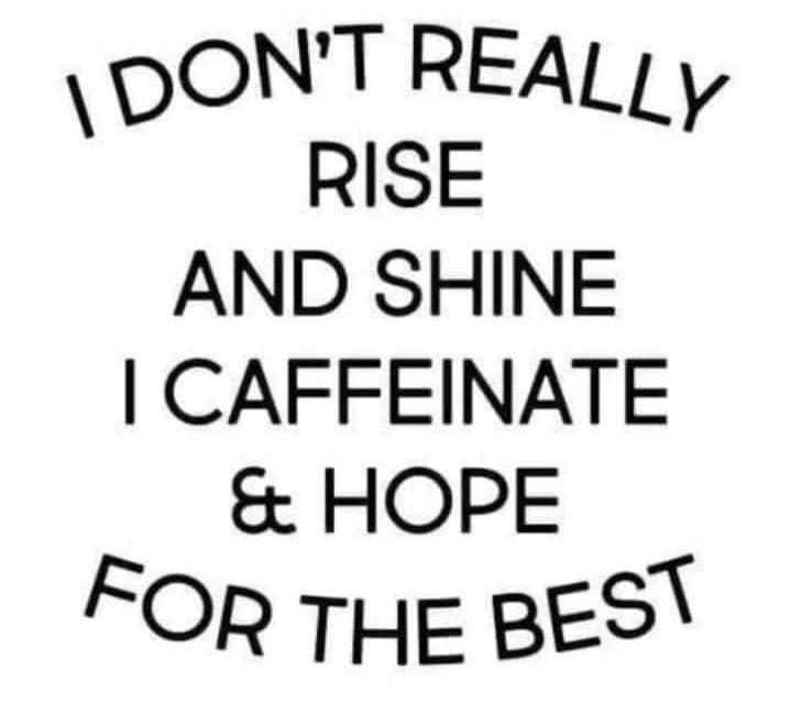 Rise for caffeine meme