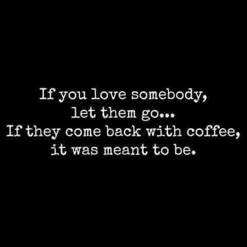 let them go coffee meme