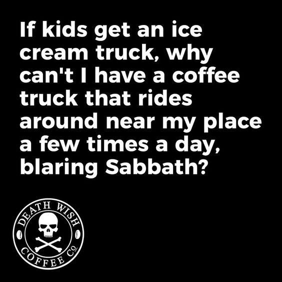 Death Wish Coffee Meme