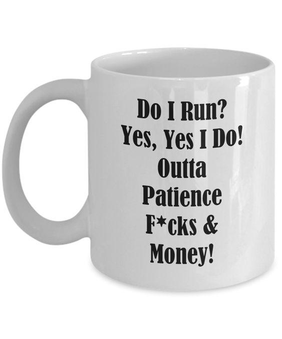 Running Mug Coffee meme