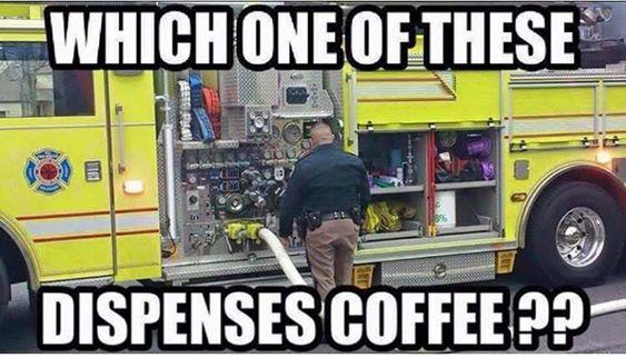 Fire Station Coffee Meme